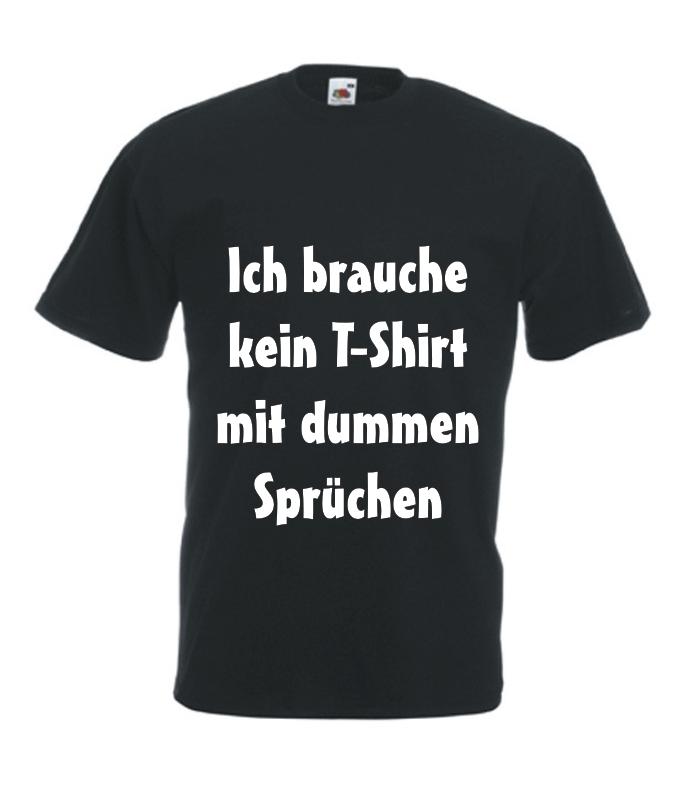 Fesselnd Motiv T Shirt Herren Dumme Sprüche ...