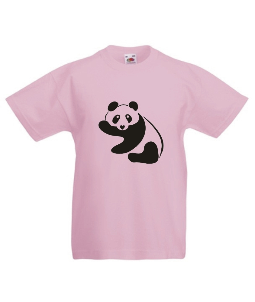kinder t shirt mit motiv panda onlineshop. Black Bedroom Furniture Sets. Home Design Ideas