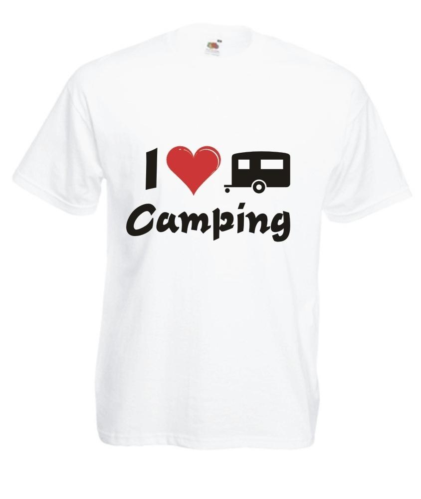 motiv t shirt herren i love camping1 onlineshop. Black Bedroom Furniture Sets. Home Design Ideas