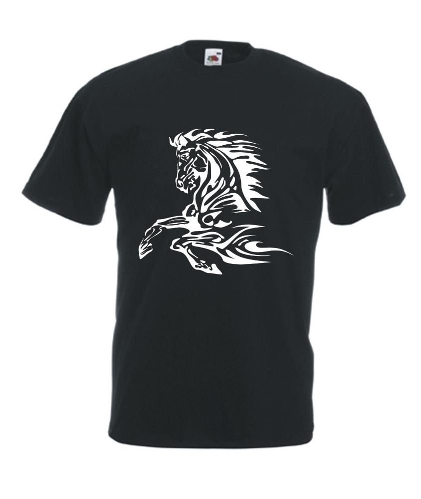 4acc63eab0fdb9 Motiv T-Shirt Herren Tribal Pferd - Fafuar.com Onlineshop