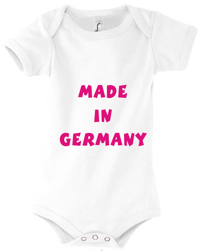 baby body mit motiv made in germany onlineshop. Black Bedroom Furniture Sets. Home Design Ideas