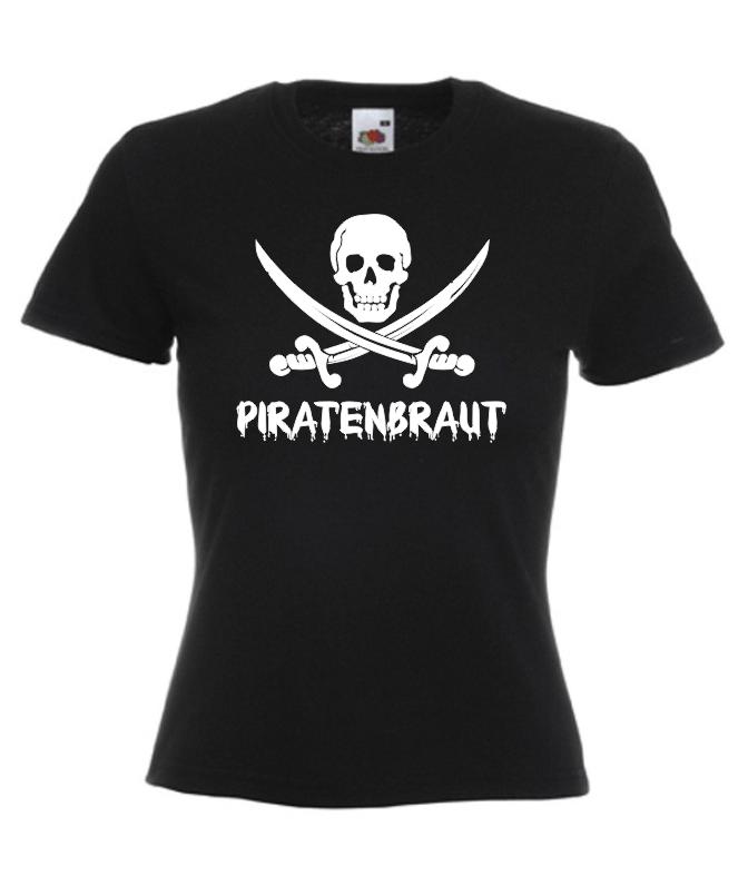 Motiv Damen T Piratenbraut Shirt Onlineshop 4B4qr