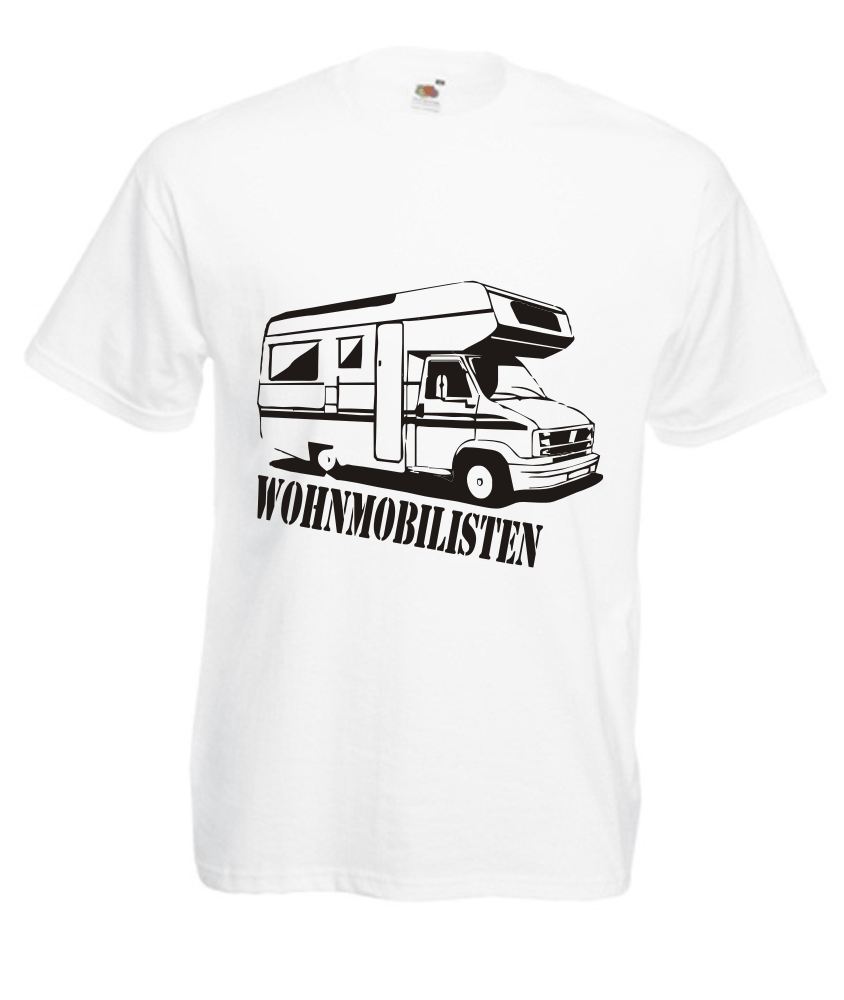 motiv t-shirt herren wohnmobilisten - fafuar onlineshop