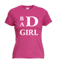 Motiv T-Shirt Damen Bad Girl