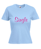 Motiv T-Shirt Damen Single