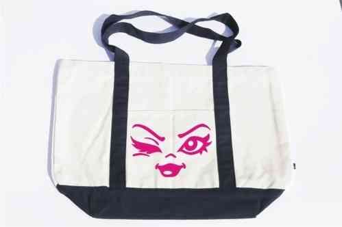 Motiv Shopping Bag Sexy Eyes