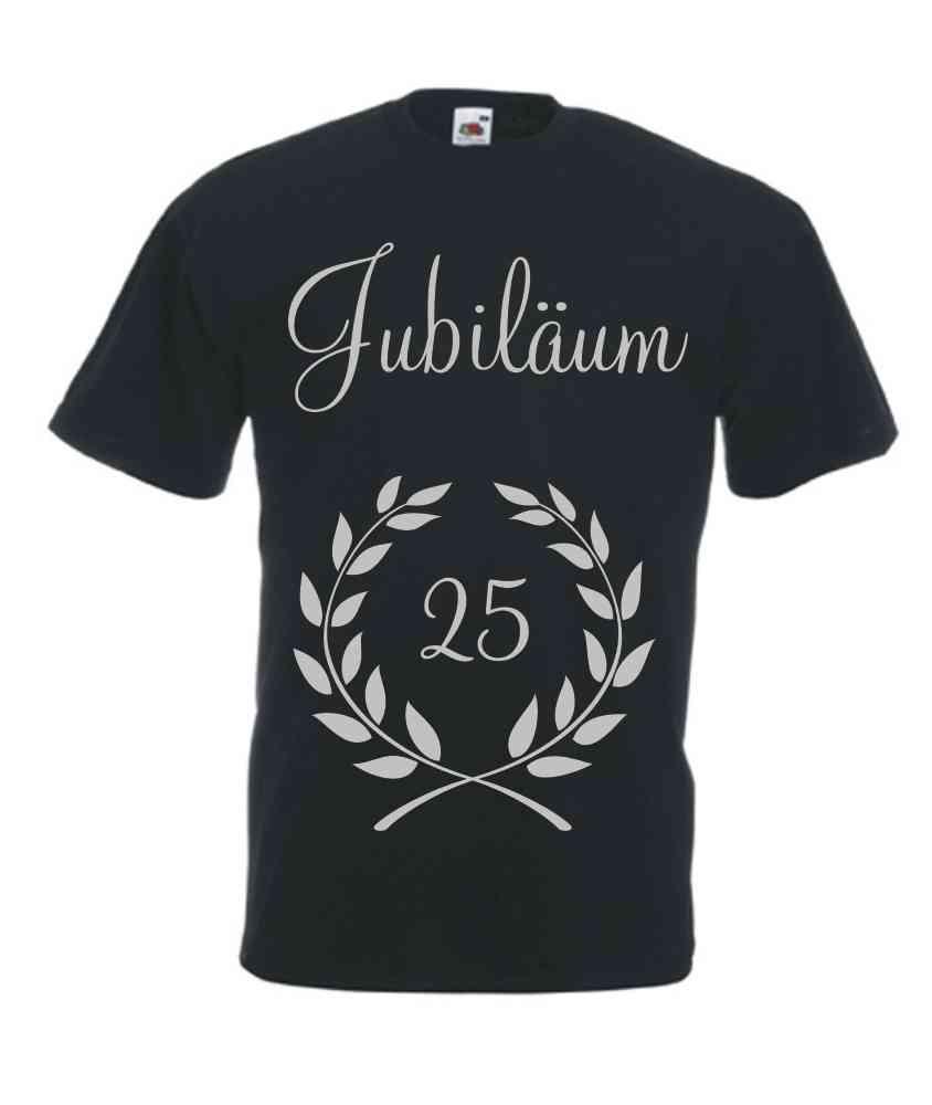 5508a3b86fd93f Motiv T-Shirt Herren Jubiläum mit Zahl - Fafuar.com Onlineshop