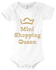 Baby Body mit Motiv Mini Shopping Queen