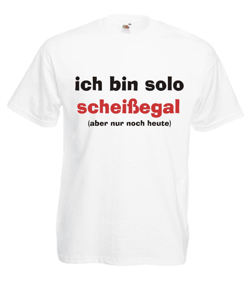 Motiv T Shirt Herren Jga Ich Bin Solo Scheissegal Fafuar Com