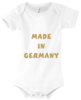 Baby Body mit Motiv Made in Germany