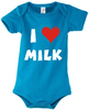 Baby Body mit Motiv I Love Milk