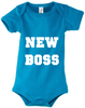 Baby Body mit Motiv New Boss