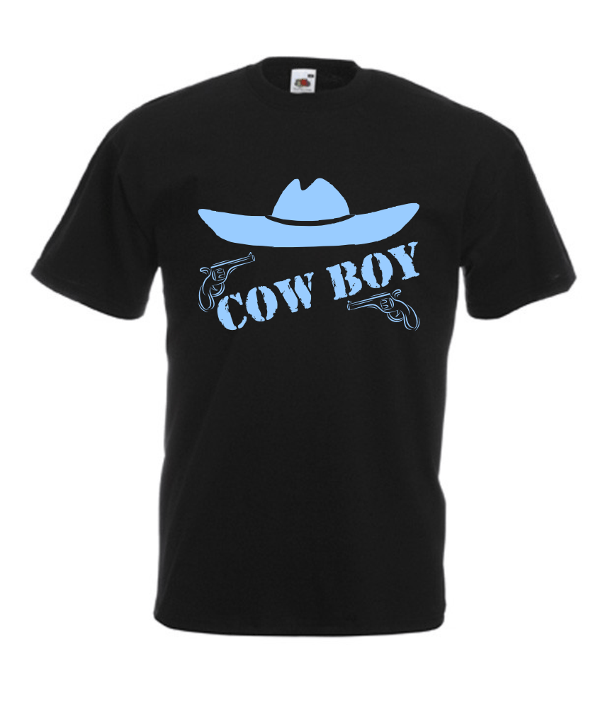 motiv t shirt herren cowboy onlineshop. Black Bedroom Furniture Sets. Home Design Ideas