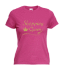 Motiv T-Shirt Damen Shopping Queen 6